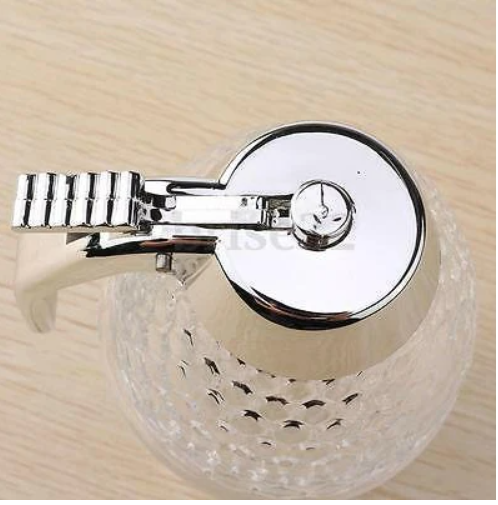 Acrylic Clear Honey Pot Dispenser