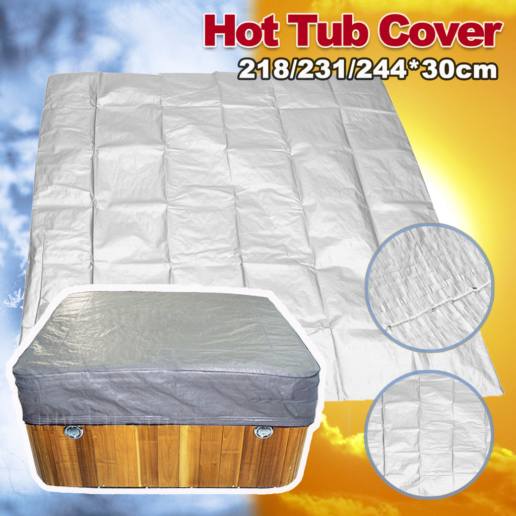 Large Durable UV Proof Outdoor Hot Tub Cover Guard Cap