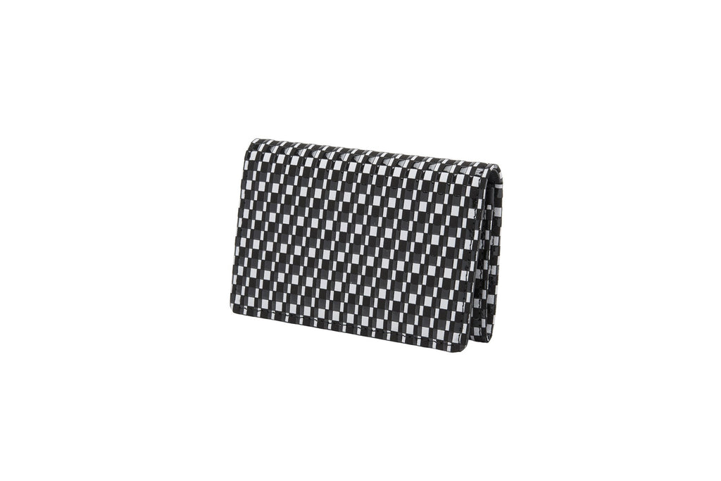 Business Card Case  Rippleal  Black x White