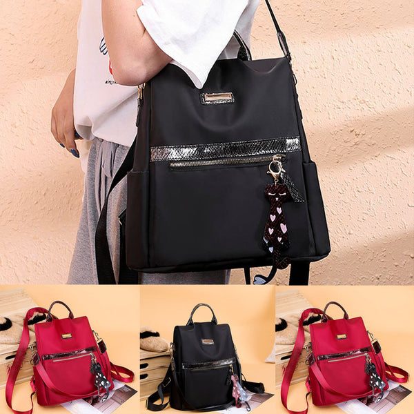 2019 New Women's Fashion Backpack Waterproof Nylon Bag Anti-Theft Shoulder Bag Leisure Mochilas Feminina bagpack mochila mujer