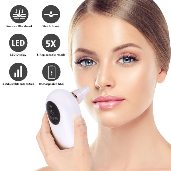 Blackhead Remover Vacuum Pore Cleaner Suction Cleaning