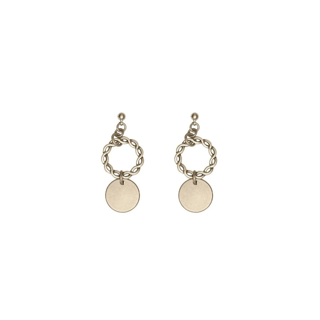 JAEDEN EARRINGS GOLD