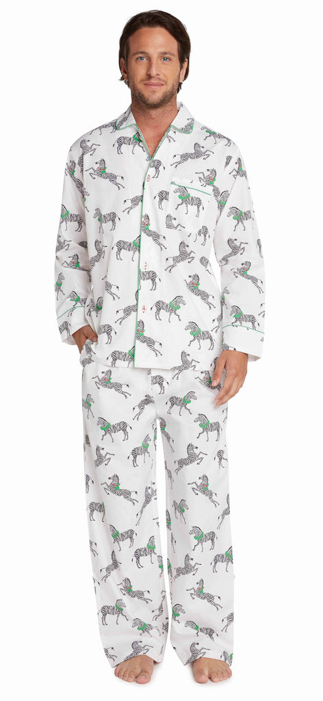 Men's Zebra PJ Set