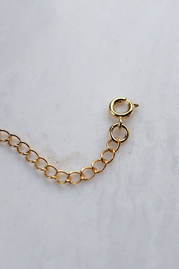 Vao 16K Gold-Plated Brass Extension Chain for Bracelets and Necklaces