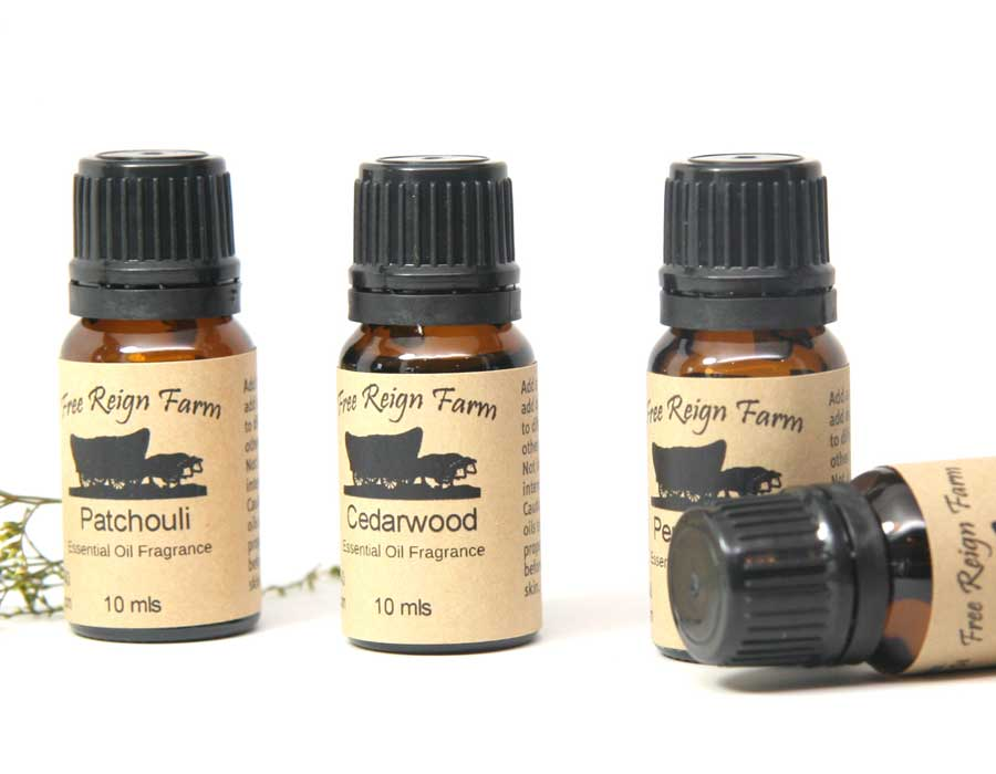Pure Essential Oils - Peppermint - 4 Pack