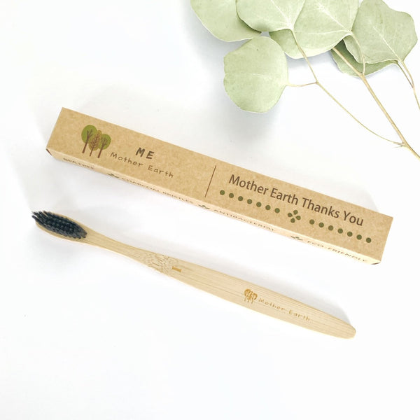 Bamboo Charcoal Toothbrush- 1pk