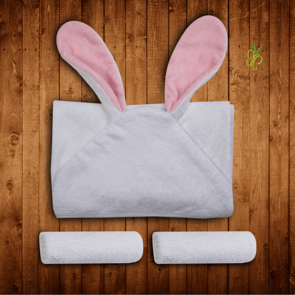 Bamboo Baby Hooded Towel Rosie Bunny