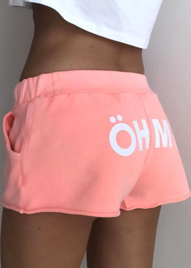 ÖH MY Coral Shorts OH MY Collection