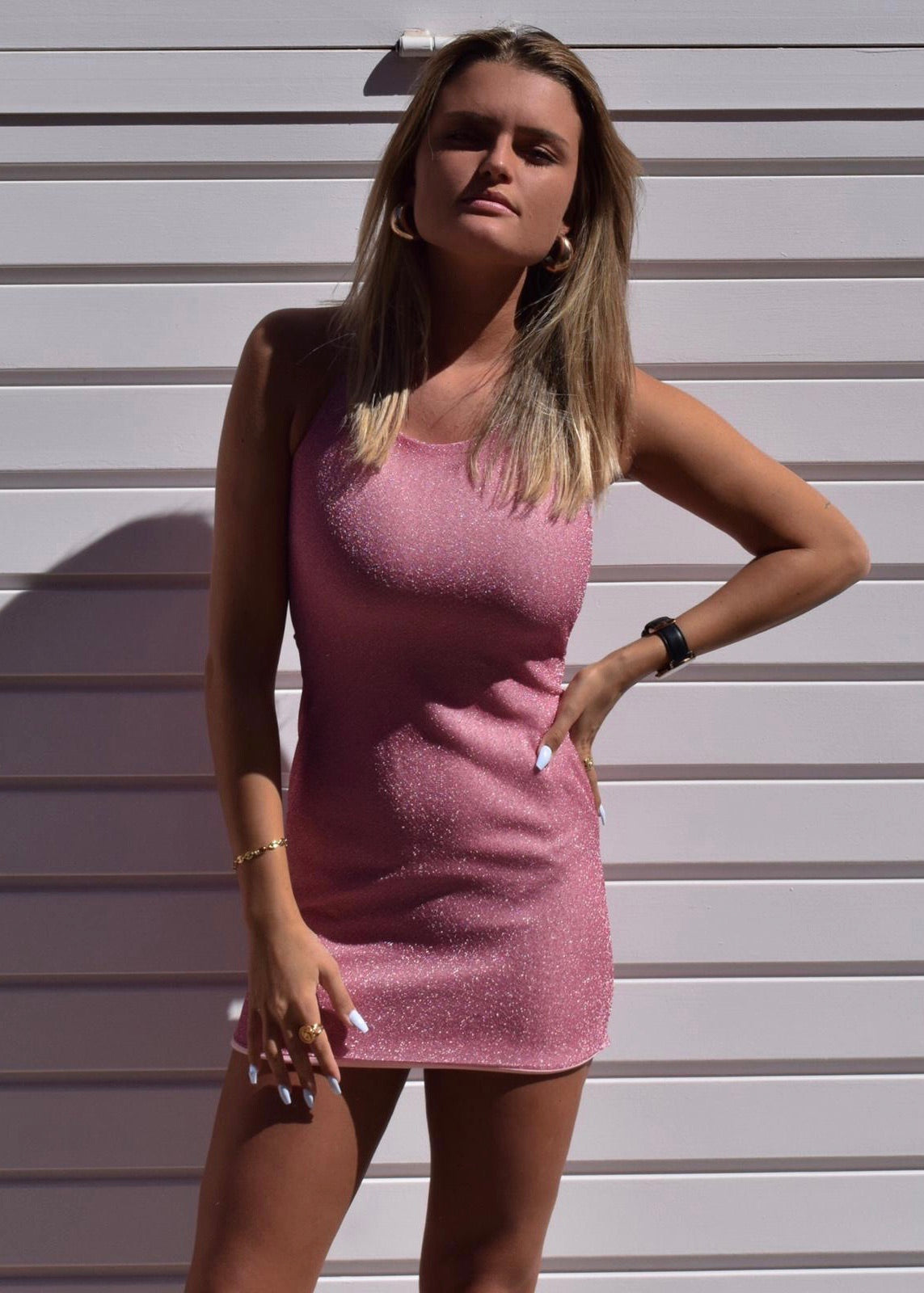PINK MALDIVES DRESS