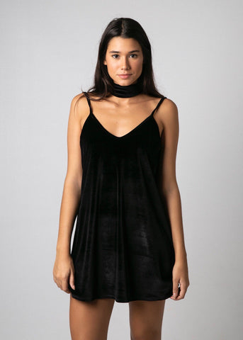 BAND CHOKER DRESS