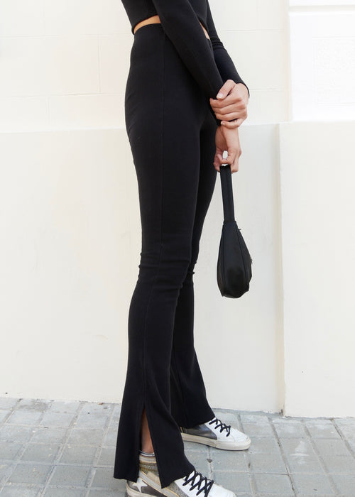 ORGANIC PANTS IN BLACK