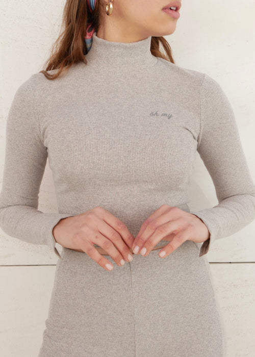 ORGANIC LIGHT GREY TOP