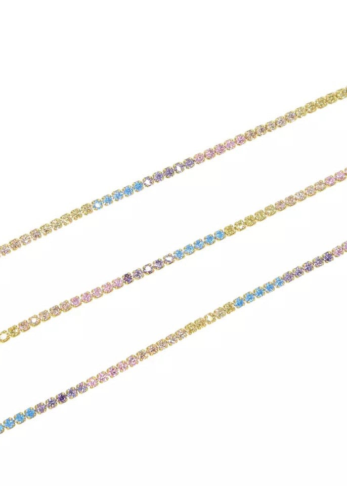 LIGHT RAINBOW NECKLACE