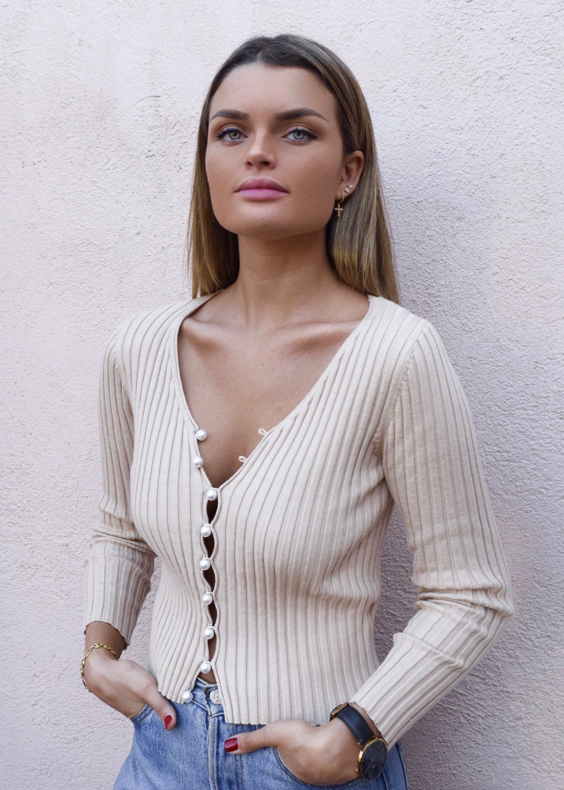 CANDICE KNIT NUDE