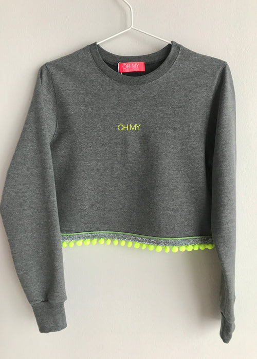 YELLOW NEON SWEATSHIRT