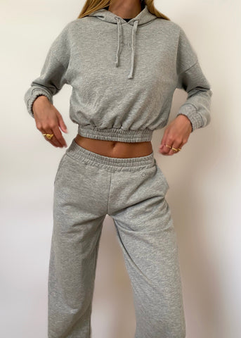 ORGANIC DARK GREY PANTS
