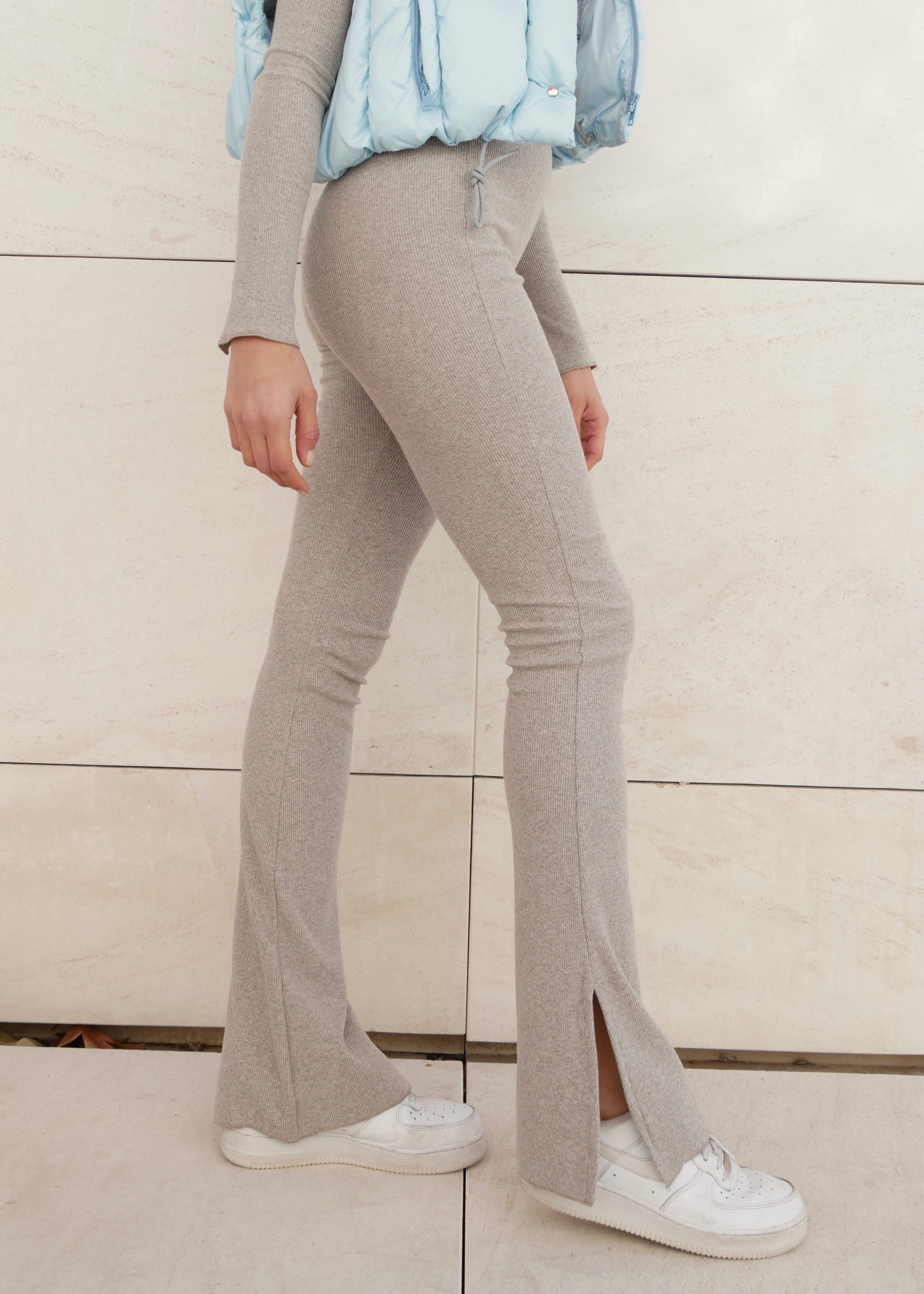 ORGANIC LIGHT GREY PANTS