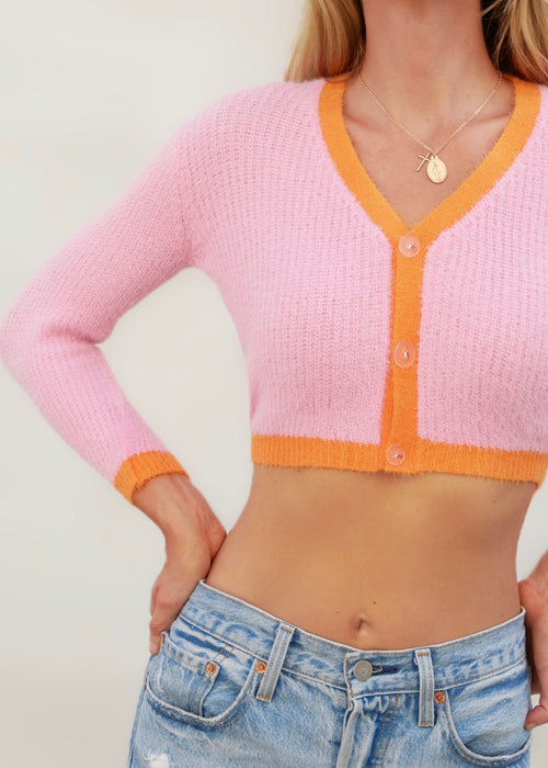 RAINBOW KNIT IN PINK