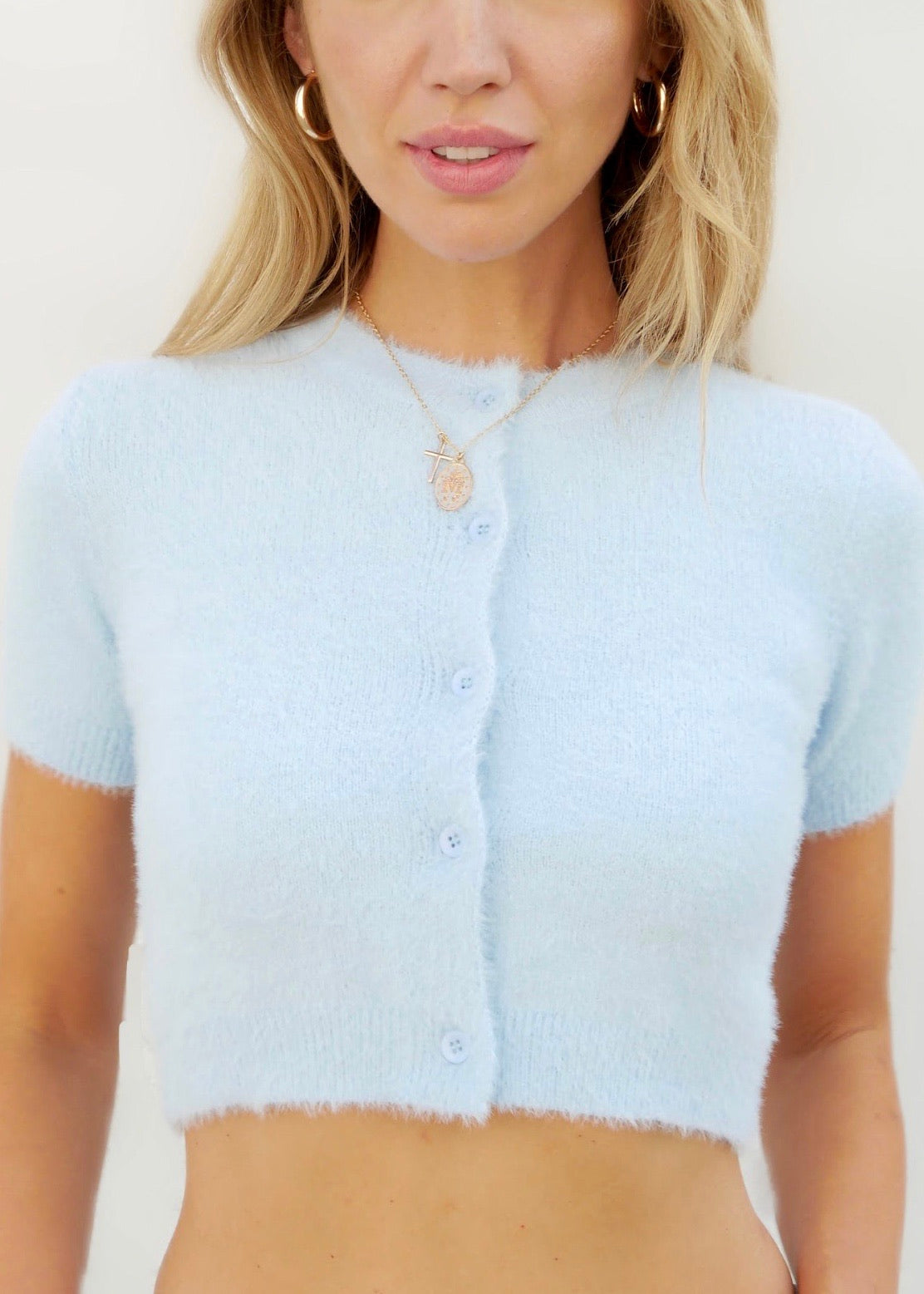 CLOUD KNIT IN BLUE