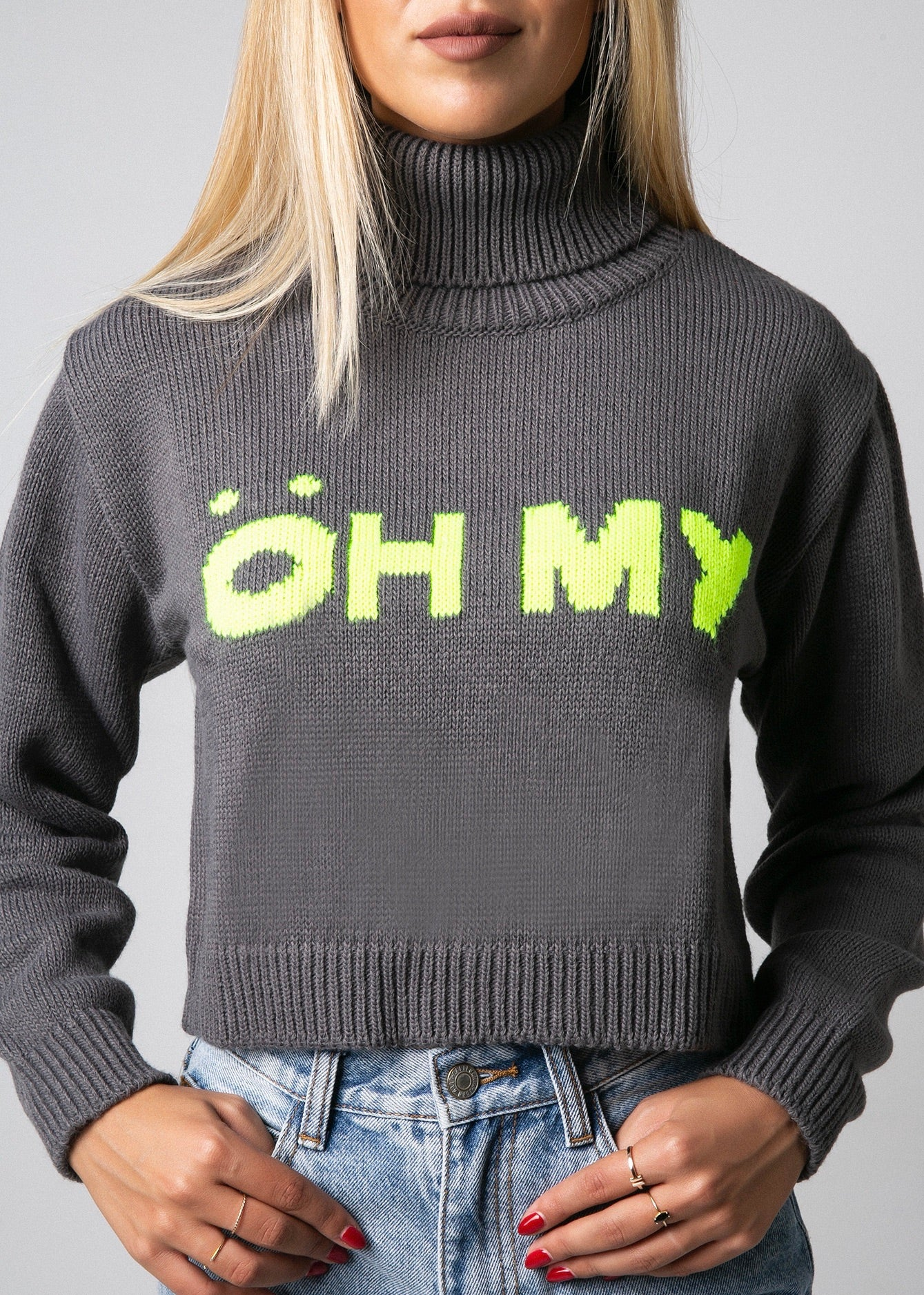 ÖH MY CROP SWEATER