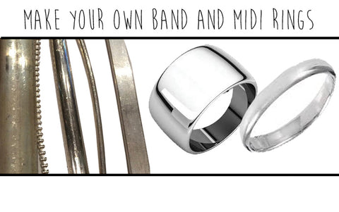 MAKE YOUR OWN BAND AND MIDI RINGS