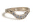 Sedna Shadow Band in White Gold