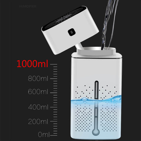 Air diffuser for clean air and scent takes 1000ml
