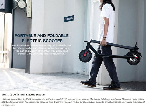 """MegaWheels Electric Scooter S5X 8.5"""" Wheels"""
