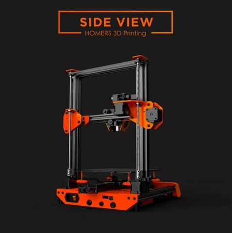 3d Printer for making models or projects side view