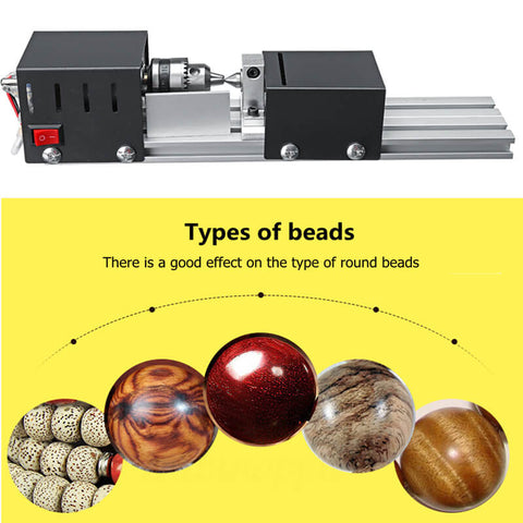 Mini Lathe Wood Turning Best DIY Hobby Machine Tool 100W