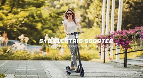 MegaWheels S10BK7.5 Foldable Electric Scooter