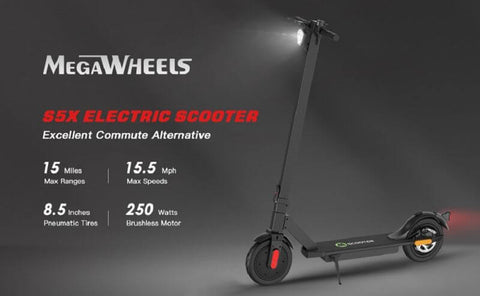 MegaWheels S5X Foldable Electric Scooter