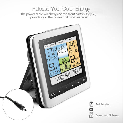 Weather Station Color Wireless Home Thermometer