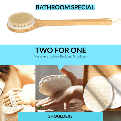 Massage brush special two for one