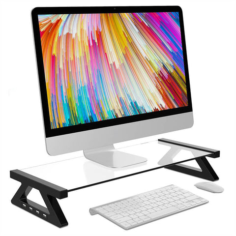 Computer stand for portable computer