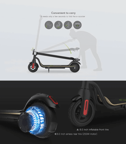 electric scooter for easy riding