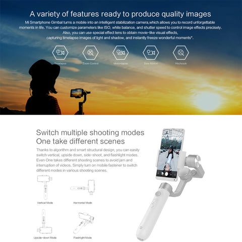 Gimbal for smartphone