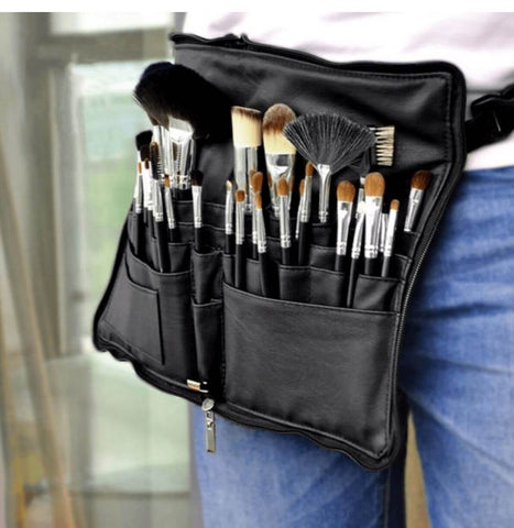 Makeup Brushes and Cosmetic Tools Bag
