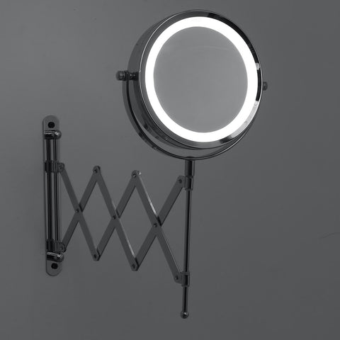 expandable makeup mirror