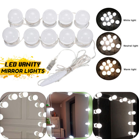 LED Vanity Makeup mirror lights