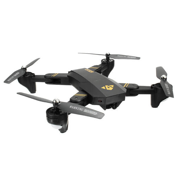 RC Drone Quadcopter WiFi Foldable With Wide Angle HD 2.0MP Camera