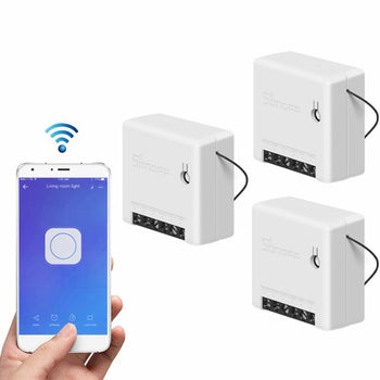 Mini Smart Switch 2 Way Works with Amazon Alexa/Google Home