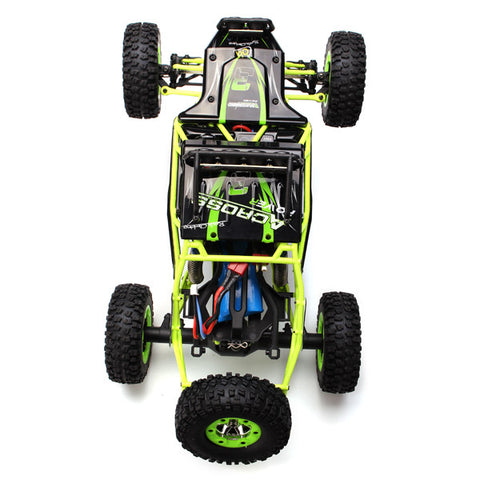 Radio Controlled Car Four Wheel Drive Crawler With LED Lights in box