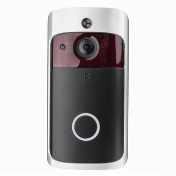 Video Camera Doorbell With Home Security Wifi Smartphone Remote Rainproof US Adaptor