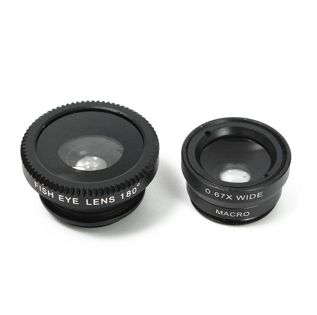 Telephoto Fisheye Lens for Smartphone
