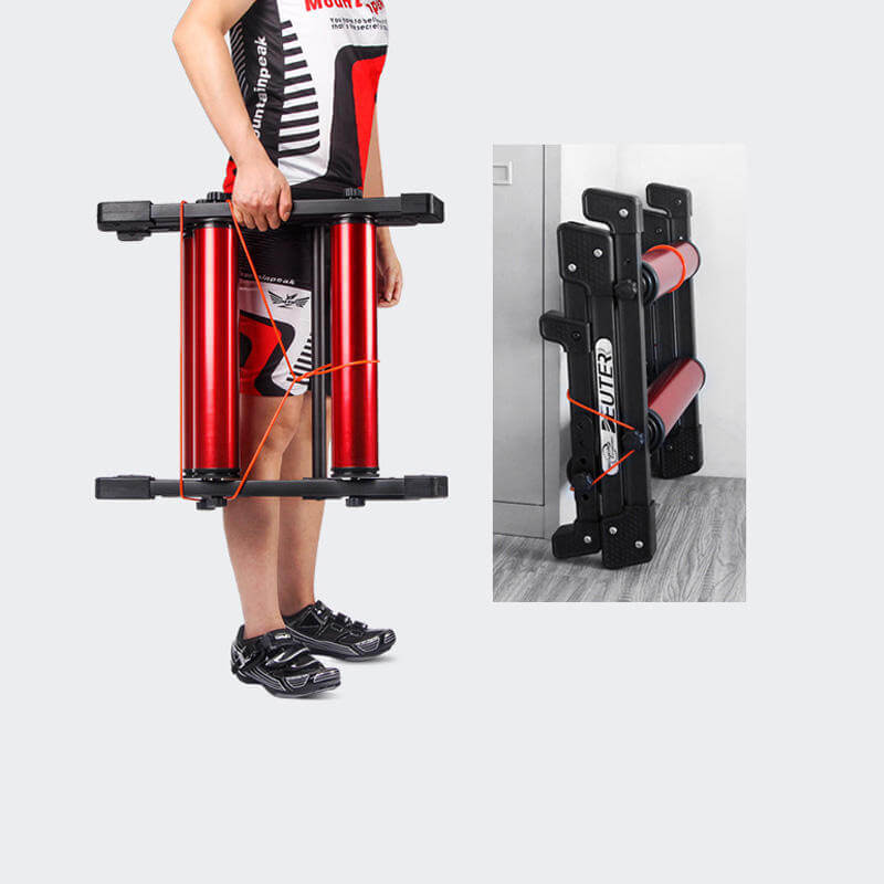 Bike trainer folded portable