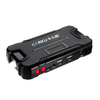 Car Jump Starter with Led Light for easy viewing in the dark