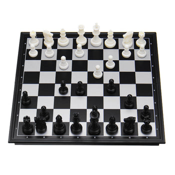 1 x 3 in 1  Magnetic Folding Chess Set