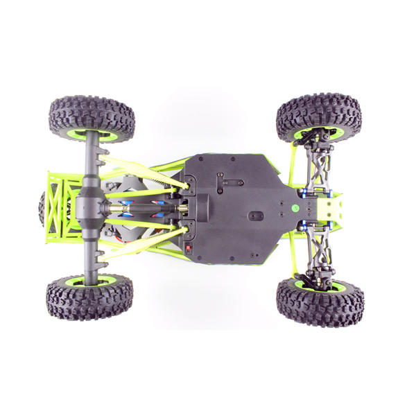 Radio Controlled Car Four Wheel Drive Crawler With LED Lights underneath view