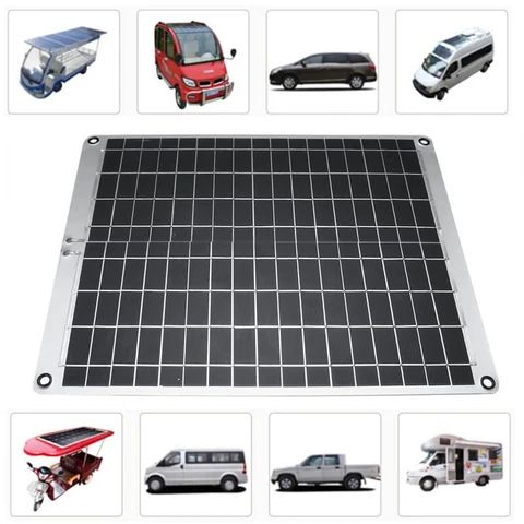 Solar Panel Monocrystalline Silicon 12V For Outdoors USB